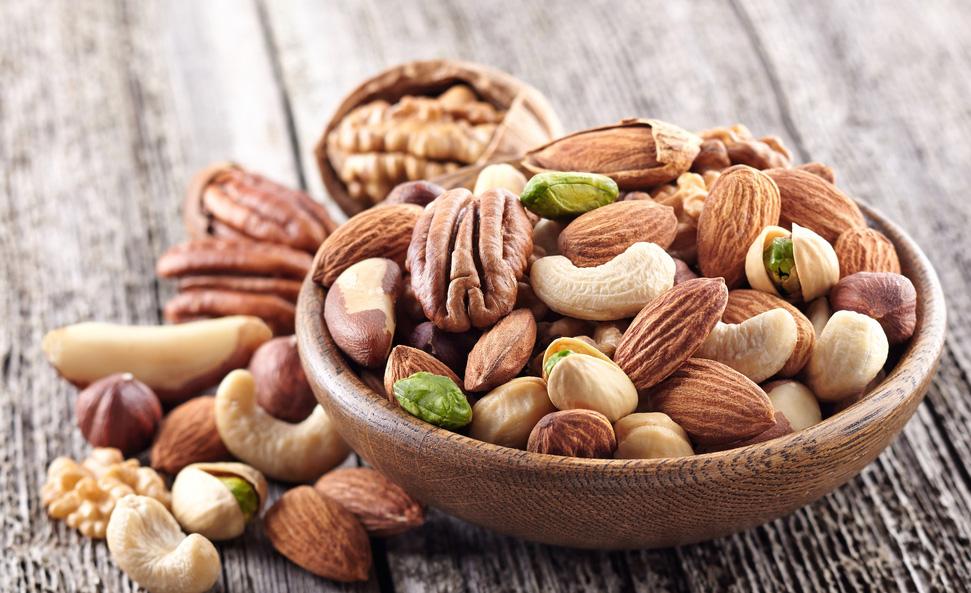 Les oléagineux apportent des nutriments sains et bons pour la santé