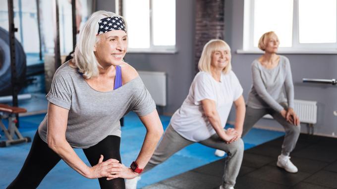 Stretching  et souplesse chez les séniors